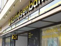 Raiffeisenbank - Banka inovuje Mobilní eKonto - Na snímku: pobočka Raiffeisenbank